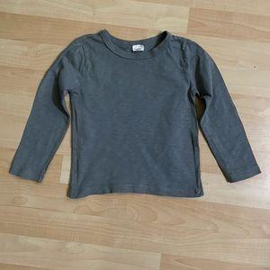 J Crew Crewcuts Boys Gray Long Sleeve T Shirt 2